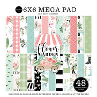 Carta Bella Paper - Flower Garden Collection - 6 x 6 Mega Paper Pad