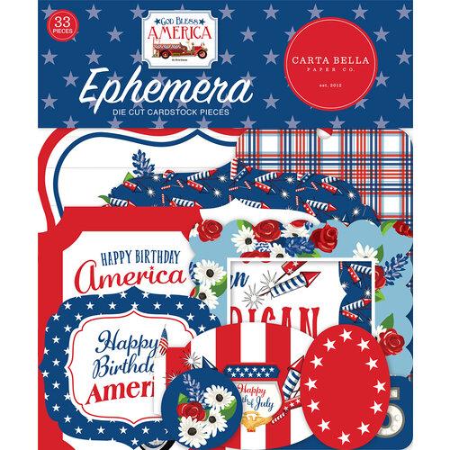 Carta Bella Paper - God Bless America Collection - Ephemera