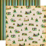 Carta Bella Paper - Gone Camping Collection - 12 x 12 Double Sided Paper - Campout