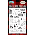 Carta Bella Paper - Gone Camping Collection - Clear Photopolymer Stamps - My Happy Place