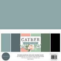 Carta Bella Paper - Gather At Home Collection - 12 x 12 Paper Pack - Solids