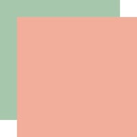 Carta Bella Paper - Gather At Home Collection - 12 x 12 Double Sided Paper - Pink