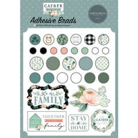 Carta Bella Paper - Gather At Home Collection - Self Adhesive Brads