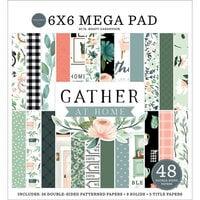 Carta Bella Paper - Gather At Home Collection - 6 x 6 Mega Paper Pad