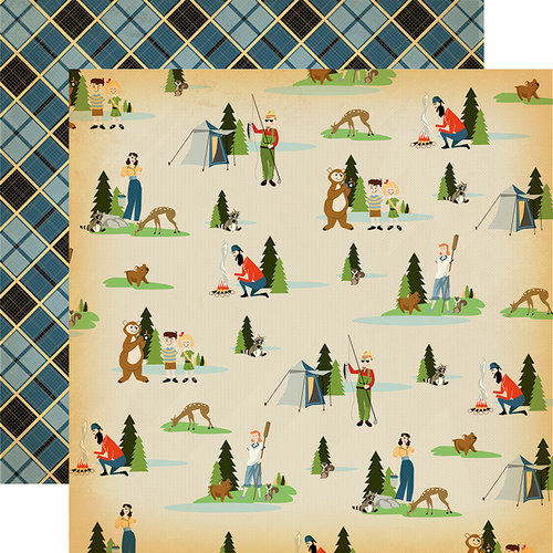 Carta Bella Paper - The Great Outdoors Collection - 12 x 12 Double Sided Paper - Let