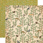 Carta Bella Paper - The Great Outdoors Collection - 12 x 12 Double Sided Paper - Forest Friends
