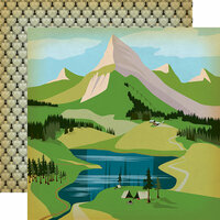Carta Bella Paper - The Great Outdoors Collection - 12 x 12 Double Sided Paper - Into The Woods