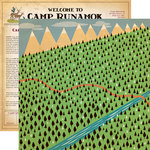 Carta Bella Paper - The Great Outdoors Collection - 12 x 12 Double Sided Paper - Over The River