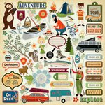 Carta Bella Paper - The Great Outdoors Collection - 12 x 12 Cardstock Stickers - Elements