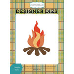 Carta Bella Paper - The Great Outdoors Collection - Designer Dies - Campfire