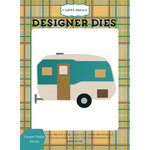 Carta Bella Paper - The Great Outdoors Collection - Designer Dies - Camper Trailer