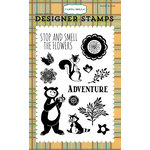 Carta Bella Paper - The Great Outdoors Collection - Clear Acrylic Stamps - Woodland