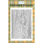 Carta Bella Paper - The Great Outdoors Collection - Clear Acrylic Stamps - Woodgrain