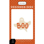 Carta Bella Paper - Haunted Collection - Halloween - Designer Dies - Boo Ghost