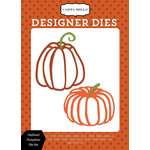 Carta Bella Paper - Haunted Collection - Halloween - Designer Dies - Outlined Pumpkins