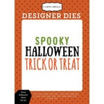 Carta Bella Paper - Haunted Collection - Halloween - Designer Dies - Scary Halloween Word