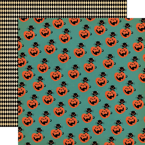 Carta Bella Paper - Happy Halloween Collection - 12 x 12 Double Sided Paper - Toil And Trouble