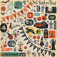 Carta Bella Paper - Happy Halloween Collection - 12 x 12 Cardstock Stickers - Elements