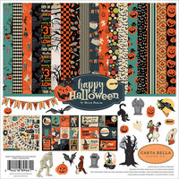 Carta Bella Paper - Happy Halloween Collection - 12 x 12 Collection Kit