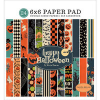 Carta Bella Paper - Happy Halloween Collection - 6 x 6 Paper Pad