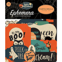 Carta Bella Paper - Happy Halloween Collection - Ephemera
