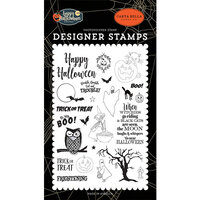 Carta Bella Paper - Happy Halloween Collection - Clear Photopolymer Stamps - Toil and Trouble