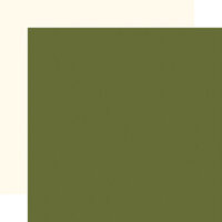 Carta Bella Paper - Hello Christmas Collection - 12 x 12 Double Sided Paper - Light Green
