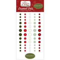 Carta Bella Paper - Hello Christmas Collection - Enamel Dots