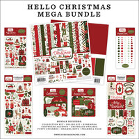 Carta Bella Paper - Hello Christmas Collection - 12 x 12 Mega Bundle