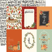 Carta Bella Paper - Hello Autumn Collection - 12 x 12 Double Sided Paper - 4 x 6 Journaling Cards
