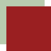 Carta Bella Paper - Hello Autumn Collection - 12 x 12 Double Sided Paper - Red