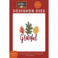 Carta Bella Paper - Hello Autumn Collection - Designer Dies - Grateful Leaves