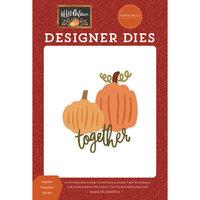 Carta Bella Paper - Hello Autumn Collection - Designer Dies - Together Pumpkins