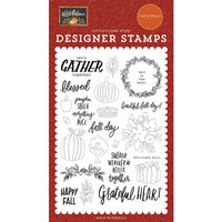 Carta Bella Paper - Hello Autumn Collection - Clear Photopolymer Stamps - Fall Day