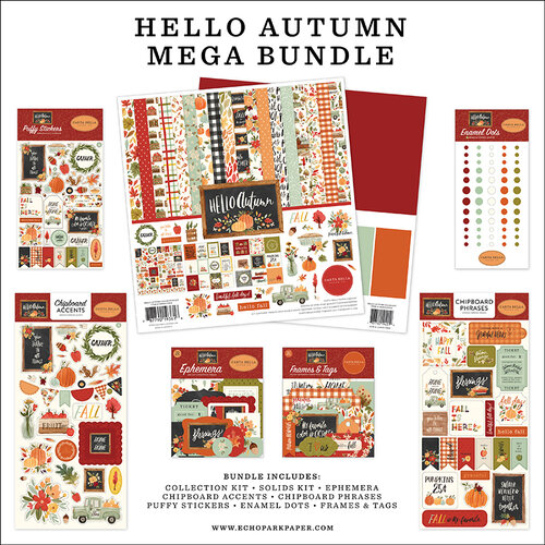 Carta Bella - Hello Autumn Collection - Mega Bundle