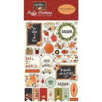 Carta Bella Paper - Hello Autumn Collection - Puffy Stickers