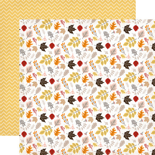 Carta Bella Hello Fall Double Sided Falling Leaves