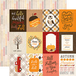 Carta Bella Paper - Hello Fall Collection - 12 x 12 Double Sided Paper - 3 x 4 Journaling Cards