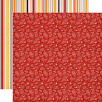 Carta Bella Paper - Hello Fall Collection - 12 x 12 Double Sided Paper - Fall Foliage
