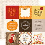 Carta Bella Paper - Hello Fall Collection - 12 x 12 Double Sided Paper - 4 x 4 Journaling Cards