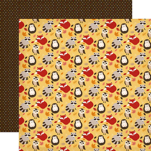 Carta Bella Paper - Hello Fall Collection - 12 x 12 Double Sided Paper - Falling For You