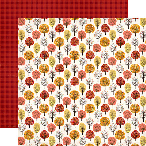 Carta Bella Paper Hello Fall Double Sided 12x12 in cardstock