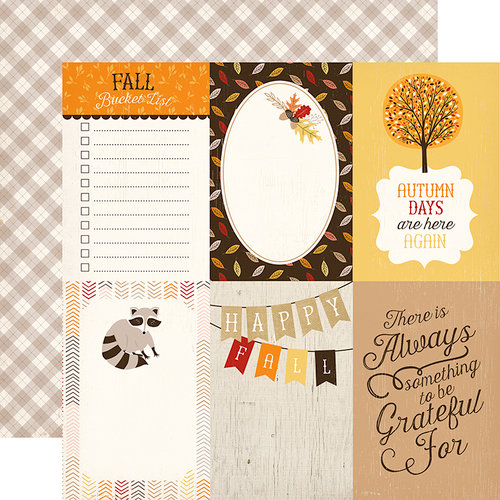 Carta Bella Paper - Hello Fall Collection - 12 x 12 Double Sided Paper - 4 x 6 Journaling Cards
