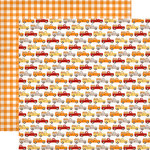 Carta Bella Paper - Hello Fall Collection - 12 x 12 Double Sided Paper - Great Harvest