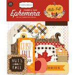 Carta Bella Paper - Hello Fall Collection - Ephemera - Frames and Tags