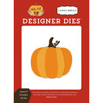Carta Bella Paper - Hello Fall Collection - Designer Dies - Layered Pumpkin