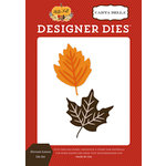 Carta Bella Paper - Hello Fall Collection - Designer Dies - Harvest Leaves