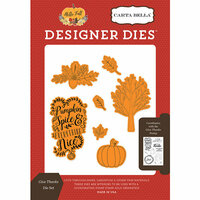 Carta Bella Paper - Hello Fall Collection - Designer Dies - Give Thanks