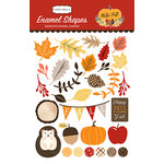 Carta Bella Paper - Hello Fall Collection - Enamel Shapes
