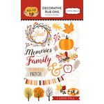Carta Bella Paper - Hello Fall Collection - Rub Ons